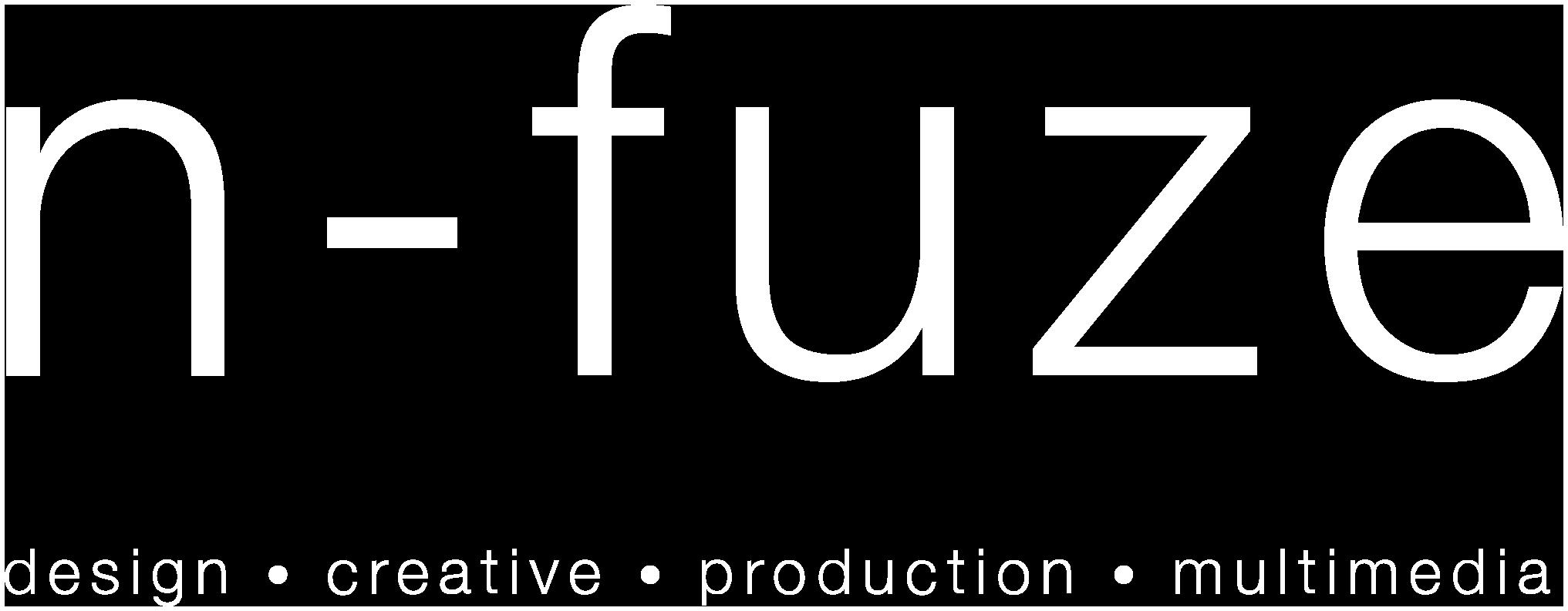 N-Fuze Logo White